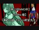 【第13回MMD杯予選】東方で獄・さよなら絶望先生