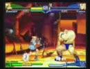 ストZERO3対戦動画ザンギ vs カリンetc