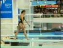 【水泳】 FINA Diving World Cup 2008 女子 飛板飛び込み・決勝 1/2