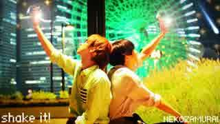 【ฅ猫ω侍ฅ】shake it!踊ってみた【ぶっきー&まりん】