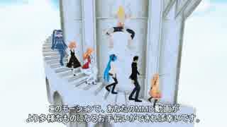 【第13回MMD杯本選】レア様の塔螺旋階段昇降モーション