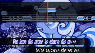 【My Little Pony】 Snowdrop カラオケ風歌詞, 音程
