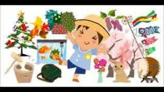 幼稚園・小中学校で誰もが歌ったと思う曲メドレー.mp4