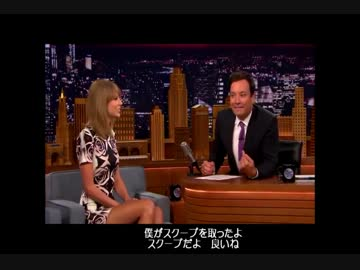 Taylor Swift「The Tonight Show ...