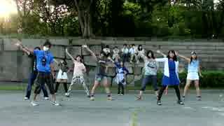 【夏恋花火】大阪城公園オフ会の夕暮れに【踊ってみた】