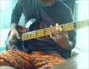 【ニコニコ動画】[ベース] ℃-ute - まっさらブルージーンズ [弾いてみた]を解析してみた