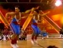 """【ニコニコ動画】エアロビのプロ達が""""打打打打打打打打打打""""を踊ったらを解析してみた"""