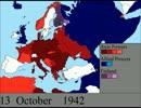 【ニコニコ動画】第二次世界大戦の経過を解析してみた