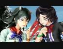 【ニコニコ動画】【東方MMD】正邪とEx三人娘がなんかわちゃわちゃする動画を解析してみた