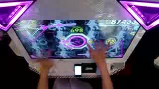 【BeatStream】ナイト・オブ・ナイツ BEAST 無反応PERFECT逃し 手元動画