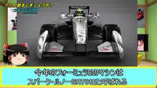 【ゆっくり解説】F1の話をしましょうか?Rd25「フォーミュラE」