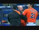 【MLB】打者負傷後のインハイで乱闘