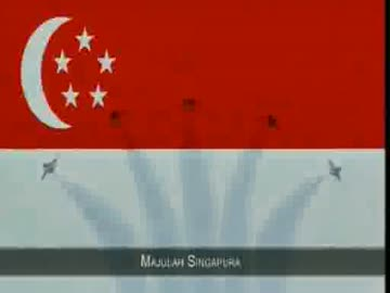 シンガポールの国歌「Majulah Si...
