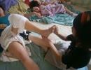 (赤さん&子あり)りらく屋/膝痛女性への整体マッサージ(足メイン)
