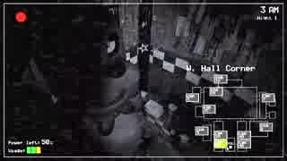 【実況】深夜警備員のバイトが怖すぎるFive Nights at Freddy's:01 thumbnail
