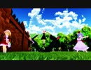 【ニコニコ動画】【東方MMD】紅魔家(仮)動いちゃダメ!【あまりにも動かないMMD選手権】を解析してみた