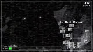 【実況】深夜警備員のバイトが怖すぎるFive Nights at Freddy's:04 thumbnail