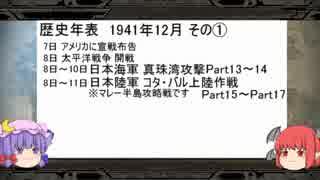 【ゆっくり実況】大戦略大東亜興亡史3ストーリー動画Part30.5 [前編]