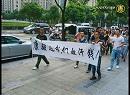 【新唐人】未払い賃金要求 数百人が暴力鎮圧される