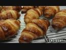 【ニコニコ動画】【パン作り】クロワッサン(+チョコ入り)を解析してみた