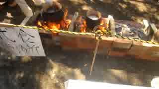 野毛古墳まつりで古代食を食べて来た +三茶de 大道芸