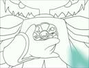【手描き】おジャ魔女♯お着替えをうえきの法則の森あいでトレス【MAD】
