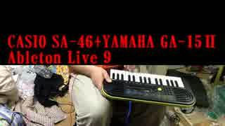 【CASIO SA-46】3000円のおもちゃキーボードを最凶にしてみた