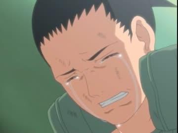 シカマルの涙