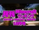 月刊 Minecraft(マインクラフト) ランキング 2014年10月号