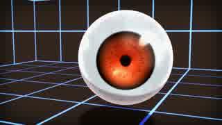 【MMM】眼球モデルテスト