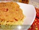 【缶詰料理祭】蟹トマトクリームパスタ作ったよ!【遅刻】
