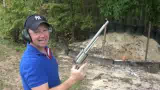 ライフル弾が撃てるリボルバー
