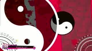 【BeatStream】 Bad Apple!! feat. nomico (上画面-東方汎用)