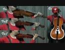 【ゼルダの伝説】タルタル高原を弦楽器で弾いてみた
