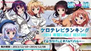 年間アニソンランキング 2014 SINGLE BEST 300【ケロテレビ】151-300