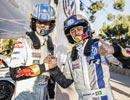 ブラジル代表ネイマール、フォルクスワーゲン・ポロR WRCに乗る