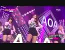 【ニコニコ動画】[K-POP] AOA(Ace Of Angels) - Like a Cat (Goodbye 20141213) (HD)を解析してみた