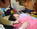 肩こり女性へ胸・わき~頭の整体マッサージ(赤さん&子あり)