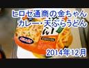 ヒロセ通商の金ちゃんカレー・天ぷらうどん