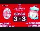 【ニコニコ動画】【高画質であのゴールを】 04-05 CL決勝 ACミランvsリバプール 奇跡の6分間を解析してみた