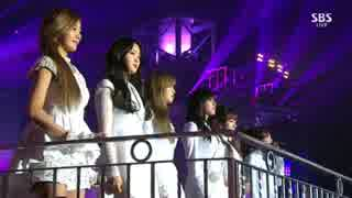 [K-POP] A Pink - LUV (Acoustic + Dance ver) (Gayo Daejun 20141221) (HD)