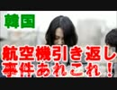 韓国紙 ナッツ・リターンだけじゃなかった!航空機引き返し事件 thumbnail