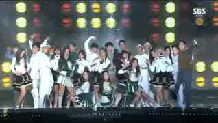 [K-POP] Strong Babies - Special Stage + GOT7 & WINNER (Gayo Daejun 20141221) 1-2