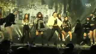 [K-POP] 4Minute - Whatcha Doin' Today (Rap ver) (Gayo Daejun 20141221) (HD)