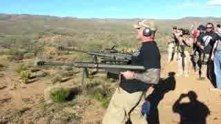 対物ライフル2丁拳銃