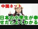 【ニコニコ動画】中国ネット これを見れば日本の小学生が幸せだとよくわかる」を解析してみた