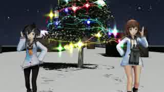 【MMD艦これ】おんだ式時津風と雪風でSnow Song Show