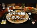 【ニコニコ動画】【ゆっくり】イタリア周遊記45 スイス観光2 夕食 まとめ編を解析してみた