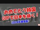 【おめでとう韓国】 GDP日本を抜く!