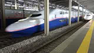 越後湯沢駅(上越新幹線)で融雪・列車通過・発着・解結風景を撮ってみた